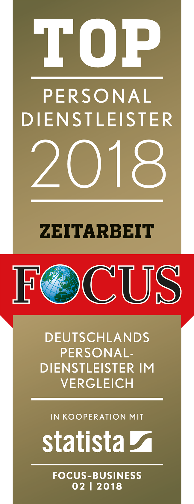Top Personaldienstleister 2016 Focus