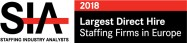 Largest Direct Hire Staffing Firms in Europe 2018